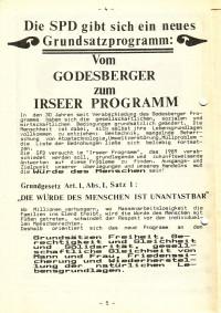 Das Grundsatzprogramm der SPD