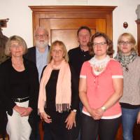Der Vorstand: Christa Glas, Martin Güll, Elisabeth Kory, Franz Glas, Sybille Zoller und Anja Güll